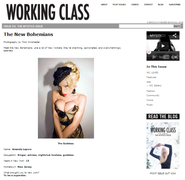 Working Class Issue II