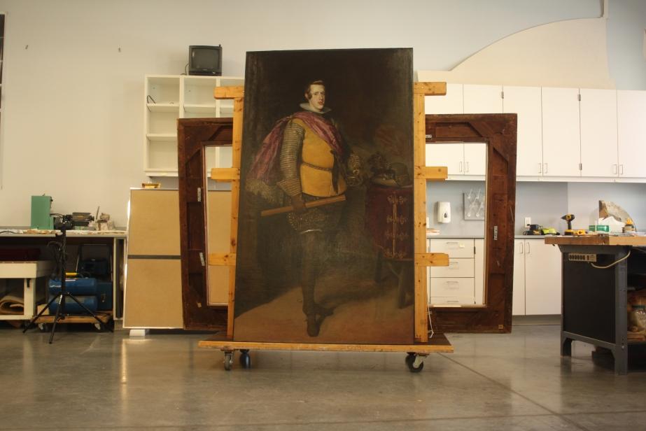 Shipping a Velázquez toParis