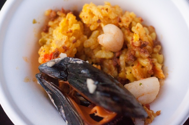 Seafood Trio Paella from Nellie's Catering